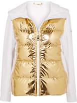 Fendi Golden Roma Metallic Padded Ski Jacket - IT40