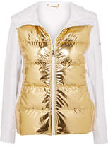 Fendi Golden Roma Metallic Padded Ski Jacket - IT42