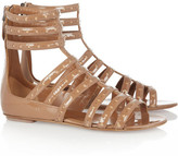 Alaia Patent-leather cage sandals