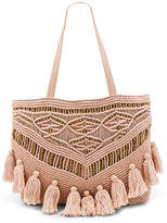 Cleobella Swoon Tote Bag in Blush.