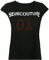 Semi-Couture Semicouture - Semicouture 01 T-shirt - women - Cotton - XS