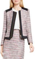 Vince Camuto Long Sleeve Tweed Jacket