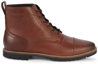 Cole Haan Nathan Cap-Toe Leather Boots