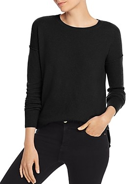 Aqua Cashmere High Low Cashmere Sweater - 100% Exclusive