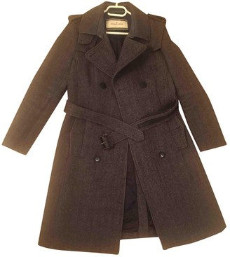 By Malene Birger Anthracite Wool Coats
