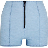 Lisa Marie Fernandez Stretch-Denim Shorts