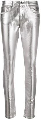 Roberto Cavalli Coated Skinny Jeans