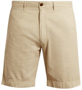 Faherty Harbor cotton-blend gabardine shorts