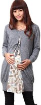 Sweet Mommy Maternity and Nursing Pufume Patturn Tunic GR