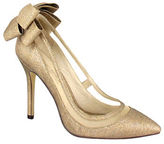 Menbur Crusy Back Bow Pointed-Toe Pumps