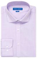 Vince Camuto Slub Cotton Slim Fit Dress Shirt