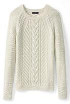 Classic Women's Lofty Blend Cable Sweater-Desert Khaki