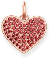 Thomas Sabo Love Coins Affinity Red Heart Pendant LBPE0022-540-10