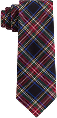 Tommy Hilfiger Men Assorted Holiday Plaid Slim Ties