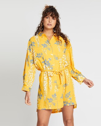 Double Rainbouu Shirt Dress