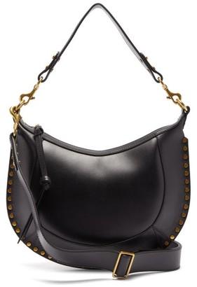 Isabel Marant Naoko Studded-leather Shoulder Bag - Womens - Black