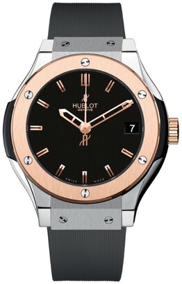 Hublot Classic Fusion 33mm Titanium King Gold Watch