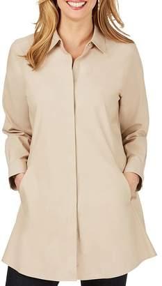 Foxcroft Cotton Non-Iron Tunic Shirt