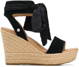 UGG Wittley tie strap wedge sandals