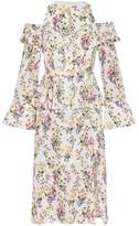 Mother of Pearl Olive Frilled Dress