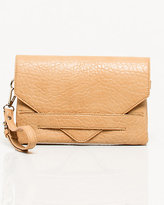 Le Château Elephant Embossed Leather-Like Clutch