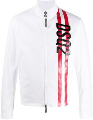 DSQUARED2 Full-Zipped Logo Jacket