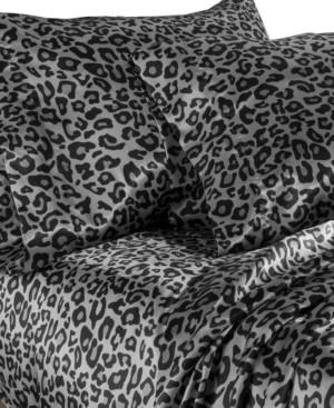 Elite Home Luxury Satin Solid Full Sheet Sets Bedding
