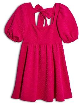 Free People Violet Puff Sleeve Mini Dress