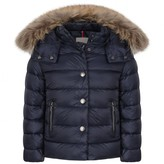 Moncler MonclerGirls Navy Down Padded Alice Coat
