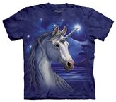 The Mountain 1538650 Unicorn Night - Kids T Shirt, Small