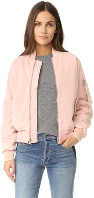 Hudson Women's Gene Puffy Bomber Jacket