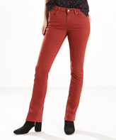 Levi's Soft Fired Brick Mid-Rise Skinny Jeans