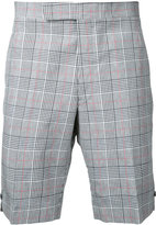 Thom Browne checked shorts - men - Cotton - 1