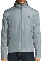 USPA U.S. Polo Assn. Fleece Lined Piped Jacket with Concealed Hood