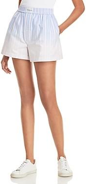 alexanderwang.t Ombre Stripe Oxford Shorts