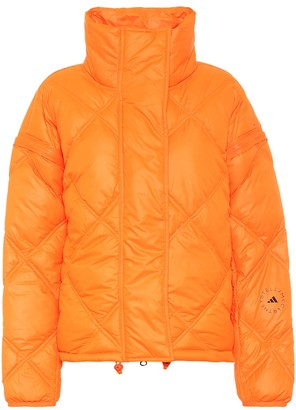 adidas by Stella McCartney Convertible quilted puffer jacket