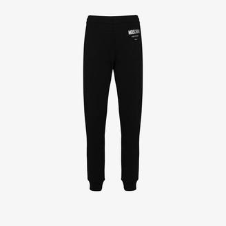 Moschino Logo Detail Cotton Track Pants