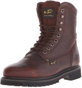 "AdTec Ad Tec Men's 8"" Work Boot (Brown Numeric_8_Point_5)"
