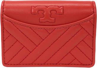 Tory Burch Alexa Foldable Mini Leather Wallet