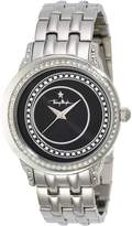 Thierry Mugler Women's Silver-Tone Steel Dial