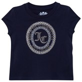 Juicy Couture Navy Jewelled Motif Tee