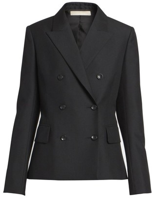 Alaia Double-Breasted Wool Blazer