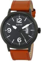August Steiner Men's AS8012TN Analog Display Japanese Quartz Brown Watch