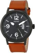 August Steiner Men's AS8012TN Analog Display Japanese Quartz Brown Watch