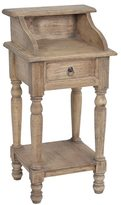 Jeffan Decorative Tan Rustic Promenade Square Accent Table