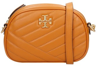 Tory Burch Kira Chevron Shoulder Bag In Leather Color Leather