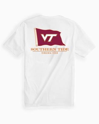 Southern Tide Virginia Tech Hokies Short Sleeve Flag T-Shirt