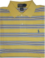 Ralph Lauren Men's Polo by Short Sleeve Polo Shirt with Multicolored Stripes
