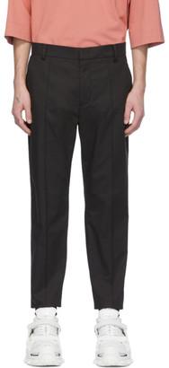 Juun.J Black Shorts Overlay Cargo Pants