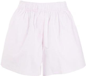 Ganni High-Waist Shorts